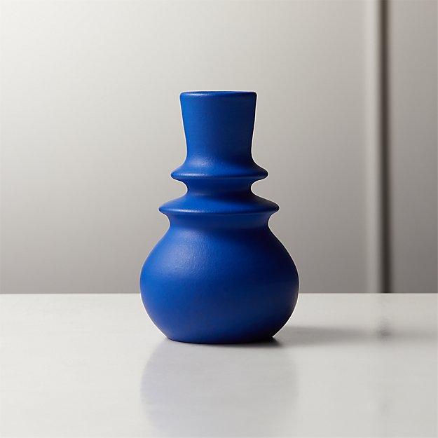 Blue Vase $9
