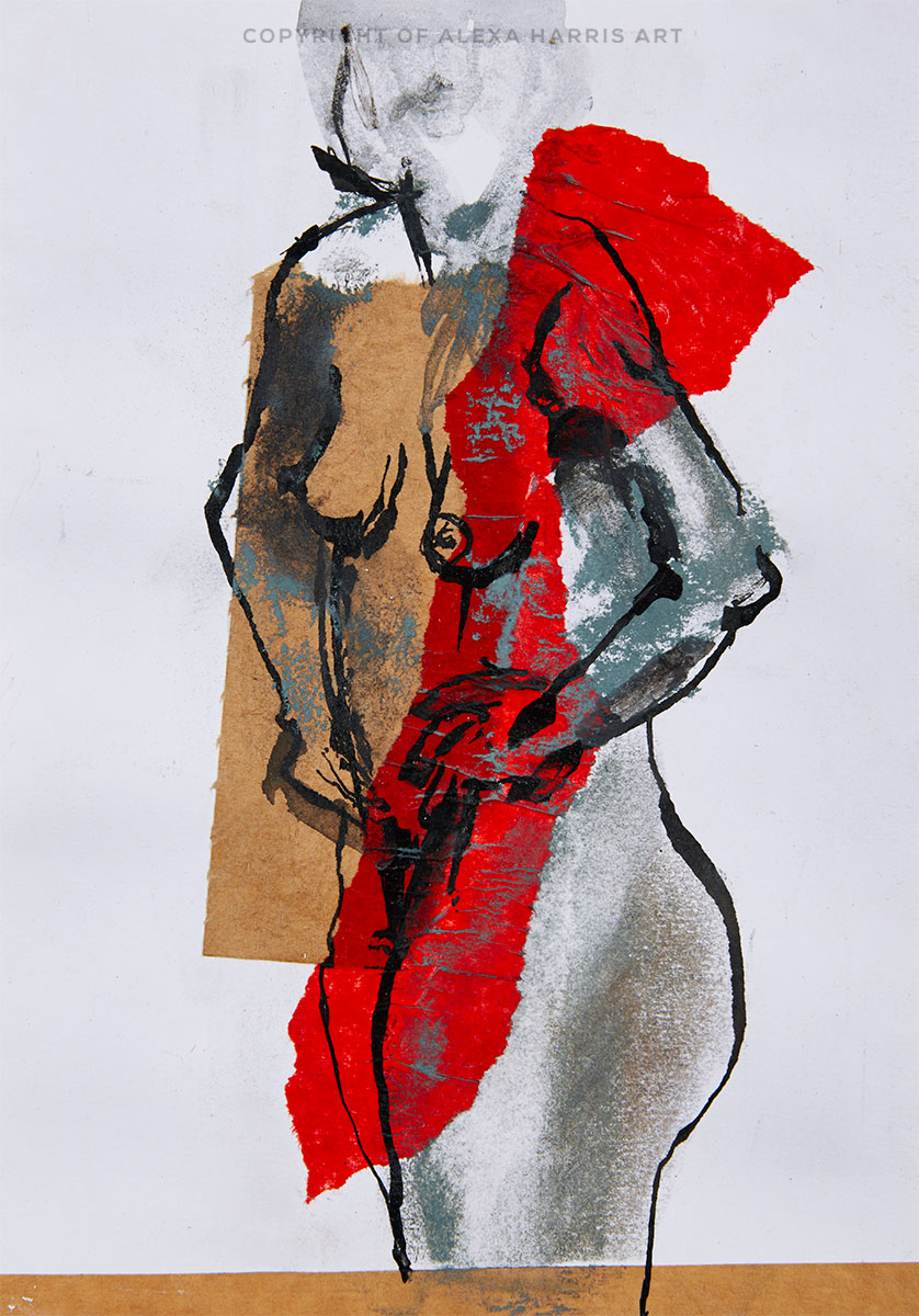 Strip in Red I