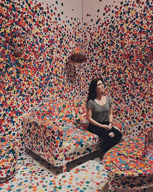 It was definitely worth it to drive to Seattle with no a/c on a 90 degree day for this exhibit. Yayoi Kusama is a genius. #yayoikusama #infinitymirrors #seattleartmusuem