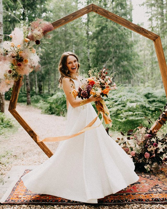 Loving the solo bride moments lately.  #portlandweddingphotographer #oregonweddingphotographer #oregonbride #radlovestories #dirtybootsandmessyhair #washingtonweddingphotographer #weddinginthewoods #bride