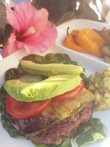 Island Burger - Just one of the scrumptious recipes in the Summer Body Meal Plan Package