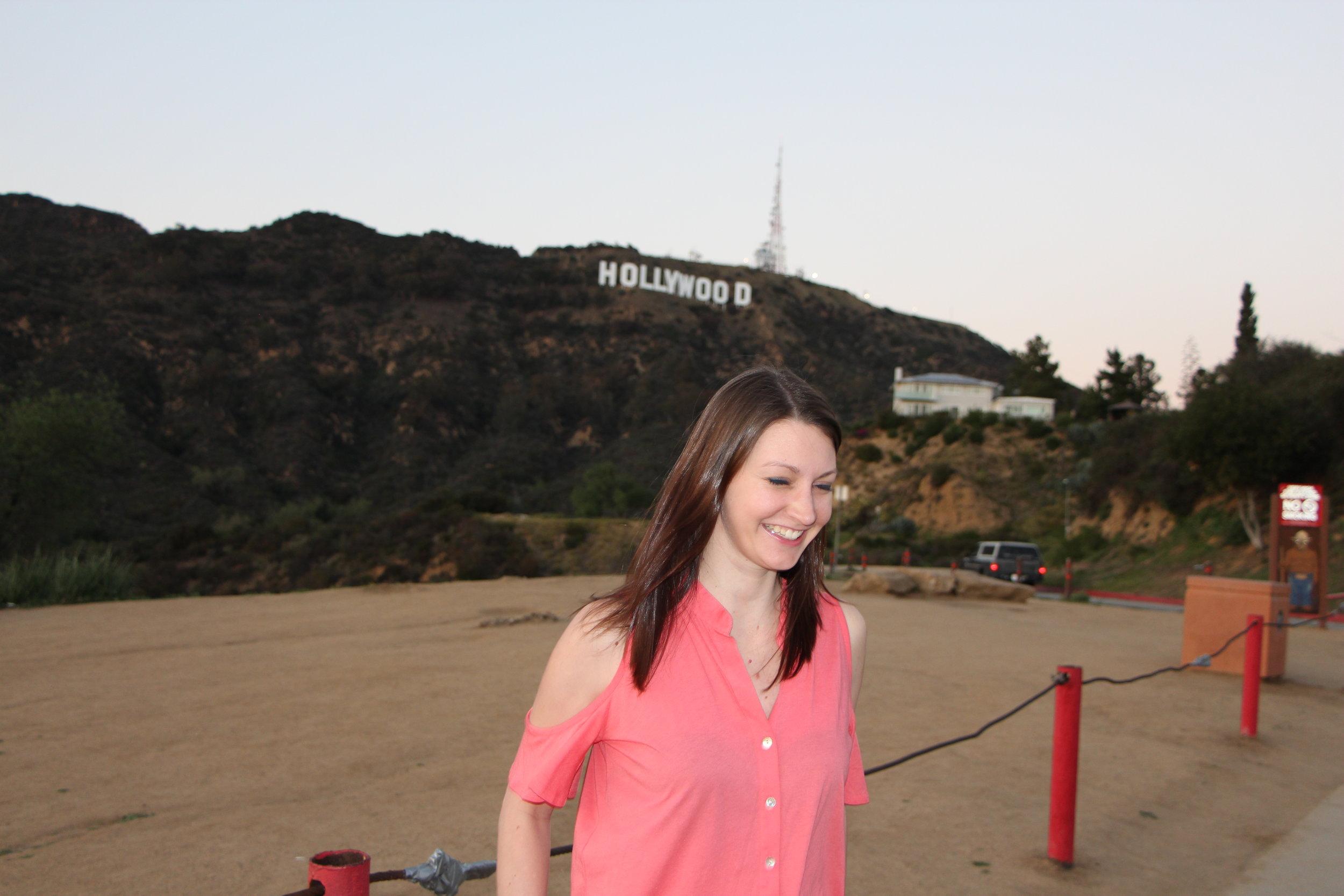Lisa at Hollywood Sign.JPG