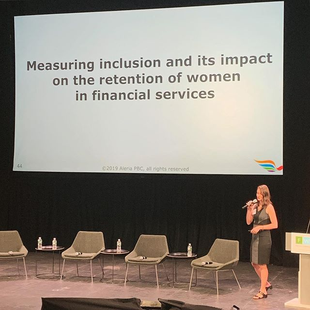 Over the last six months we have worked with the Financial Women's Association on a study that aimed to better understand inclusion and its impact on the retention of women in the financial services industry.  Today we had the opportunity to present preliminary insights during the FWA's Annual Summit.  The final report will be published later this summer and we can't wait to share it more broadly.  In the meantime, we're still collecting survey responses. If you're a woman in financial services, I'd love to include your experiences in our research. . 🙋🏻♀️ Just ask me for the link to the survey and it will be on its way.