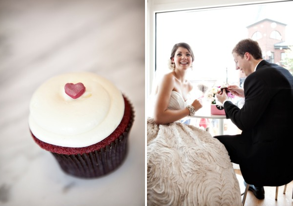 Georgetown Cupcake Wedding Day