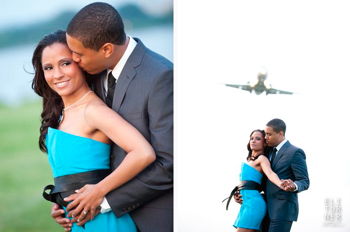 Airport Engagement Shoot