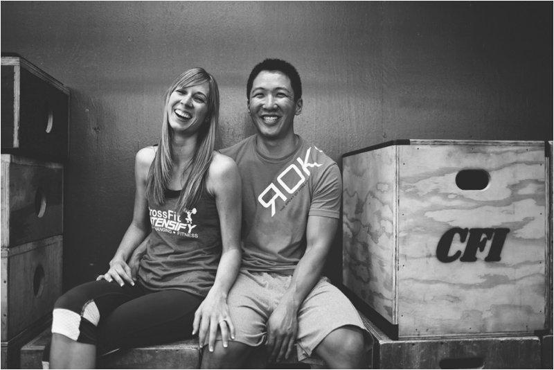 CrossFit Couple Engagement Photos