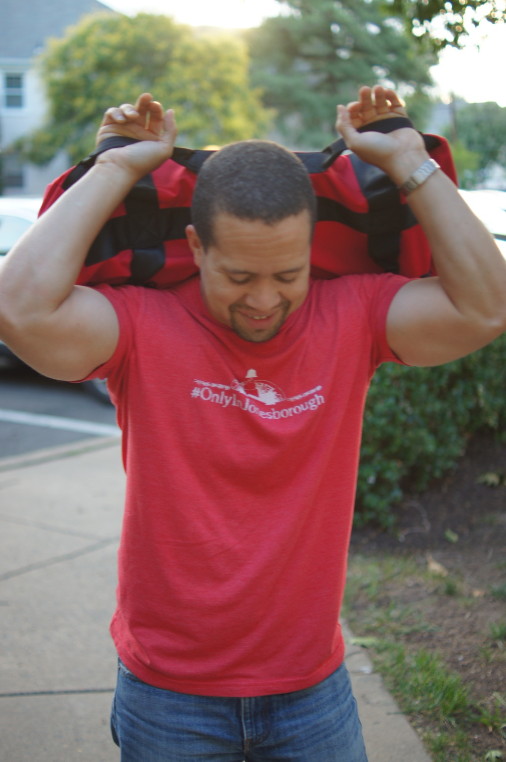 Rep Fitness How to Fill Your Sandbag Pinterest Image 2