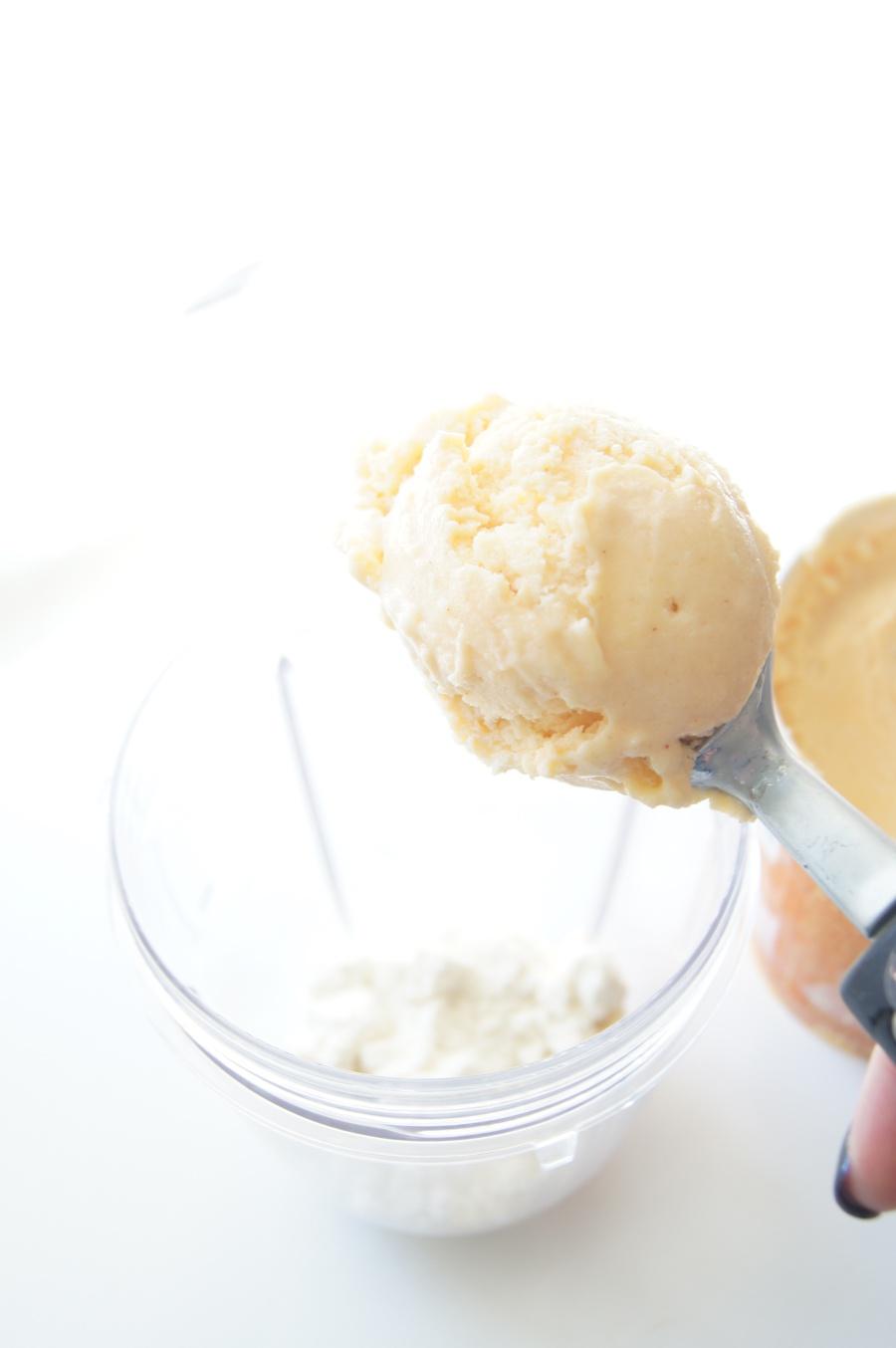 Pumpkin Spice Protein Milkshake 5