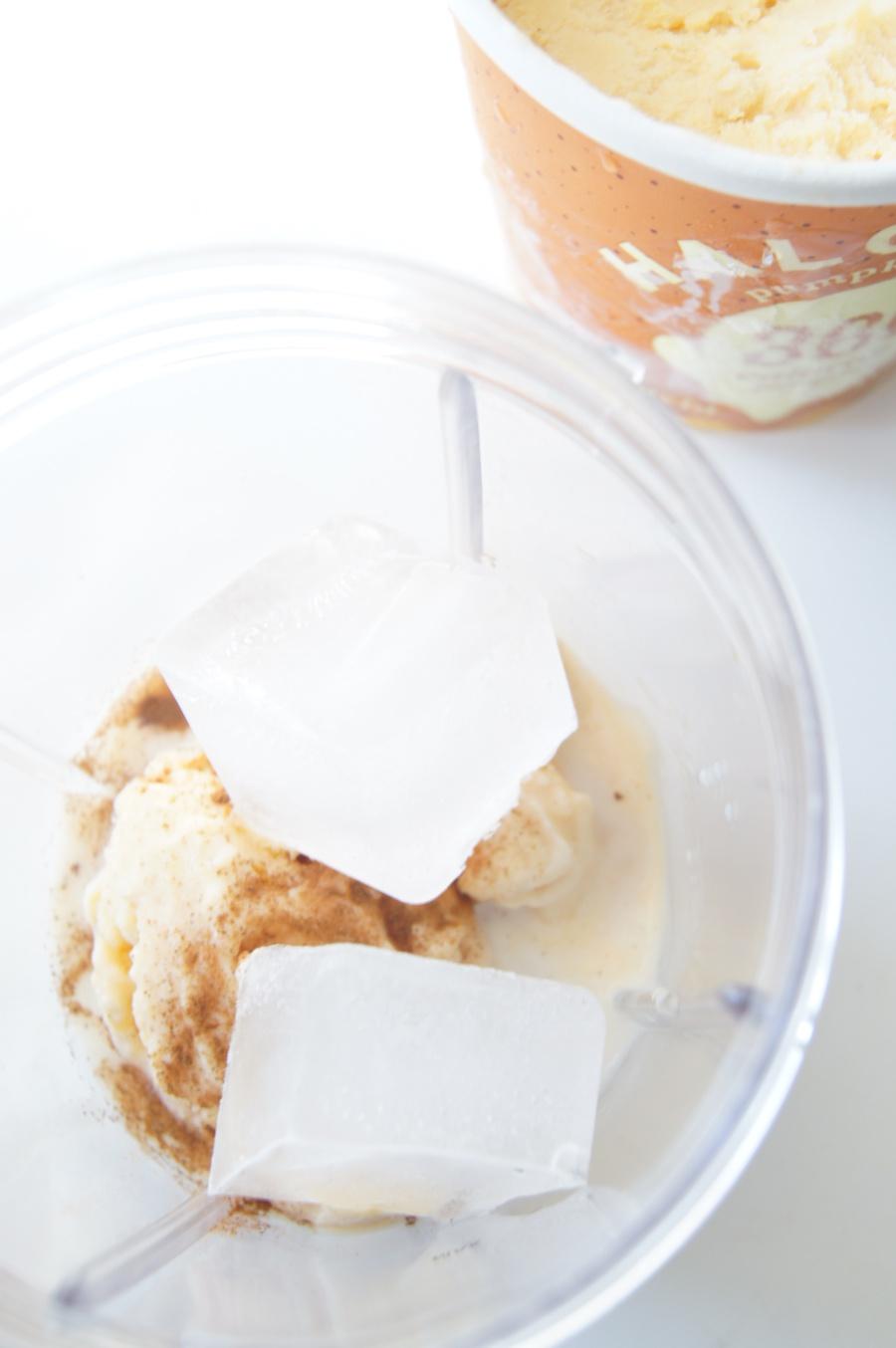 Pumpkin Spice Protein Milkshake 6