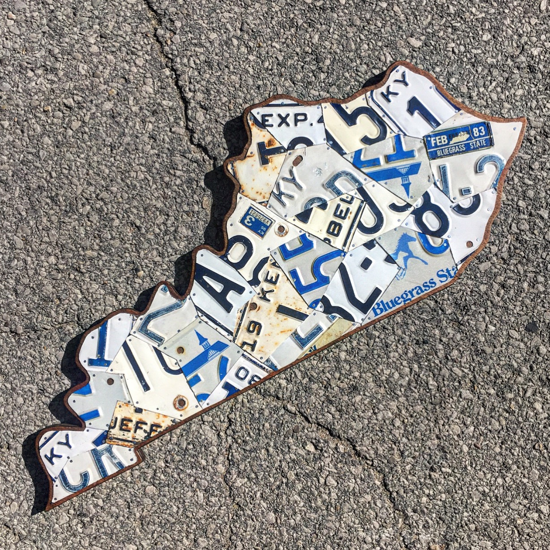 Kentucky Large License Plate Art White 1.JPG