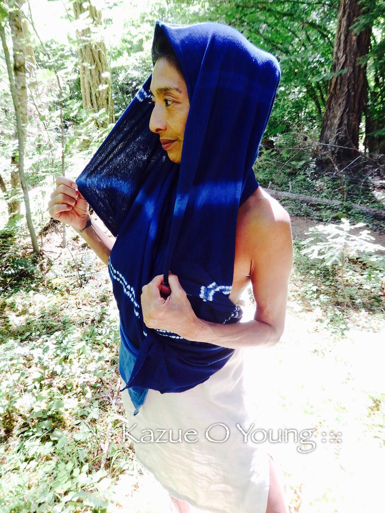 Model is Anna who is Vegan Chef in Big island, HAWAII.