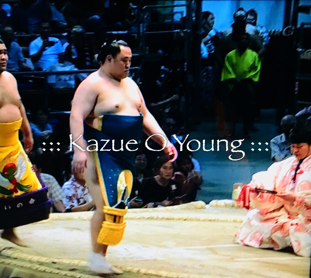 Tamawashizuki Sumou Wrestler used my design to make his Keshou Mawashi.