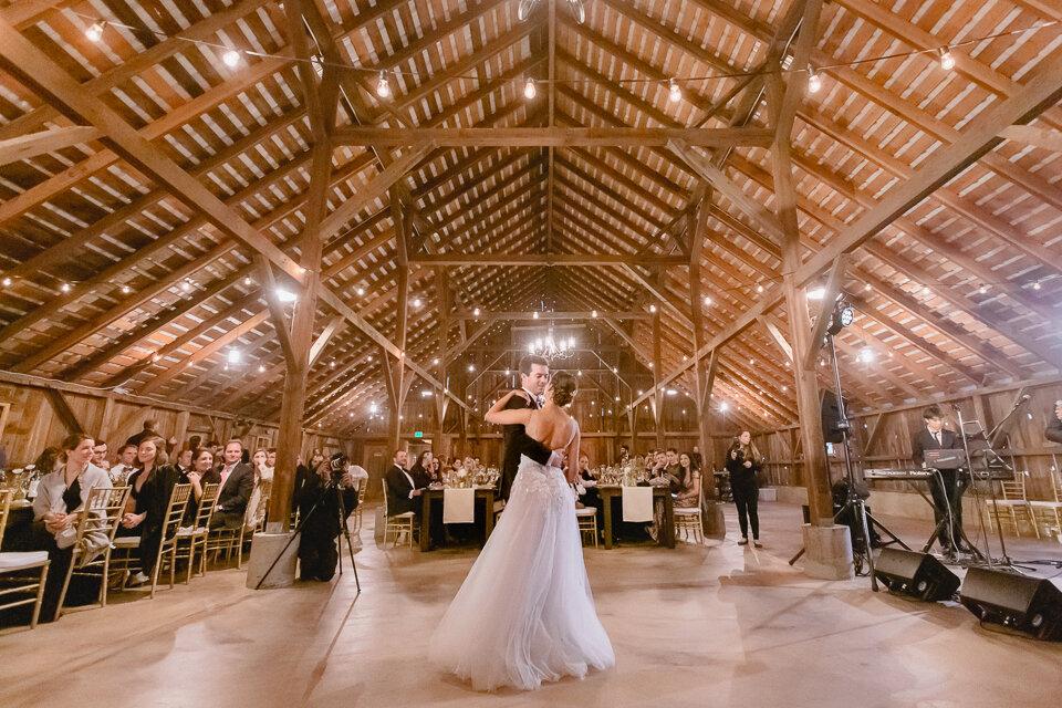 Designing A Unique Barn Wedding Reception At The Haven San Francisco Bay Area Barn Wedding Venue