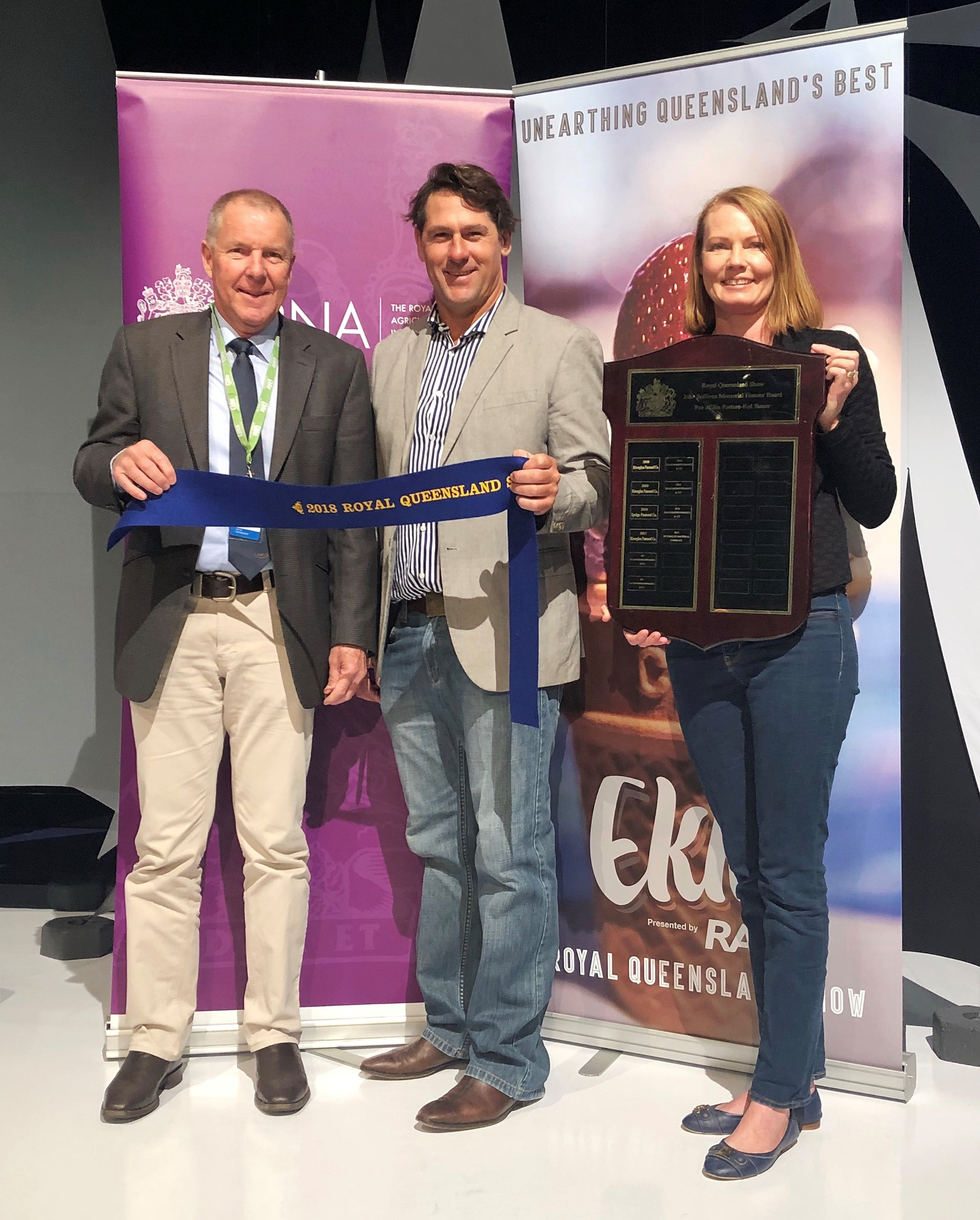 Paddock to Palate 2018 Result: 1st Best Weight Gain
