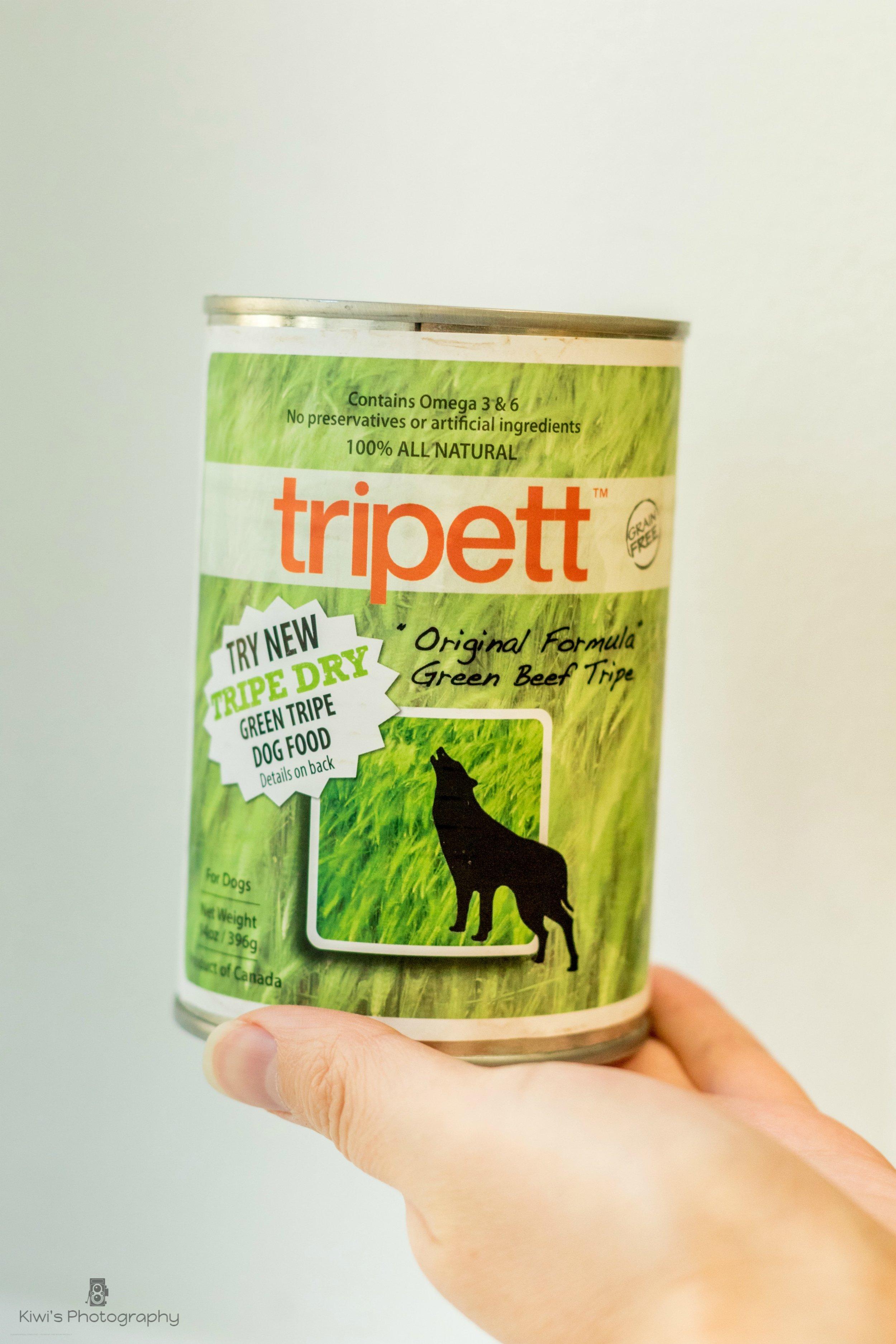Tripett Canned Green Beef Tripe