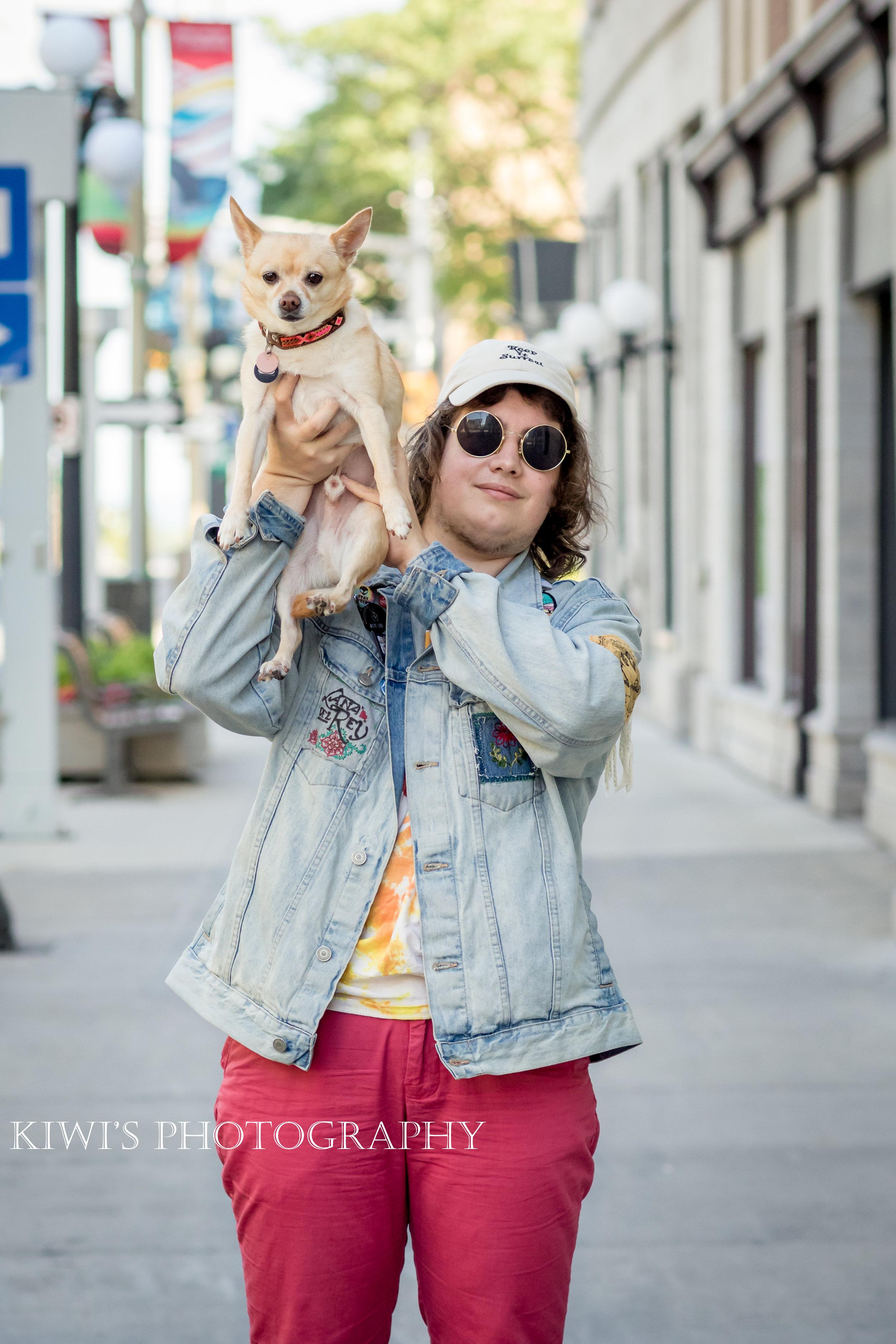 How I met my Best Friend - Ellis & Mac A. Roni - ottawa pet photography