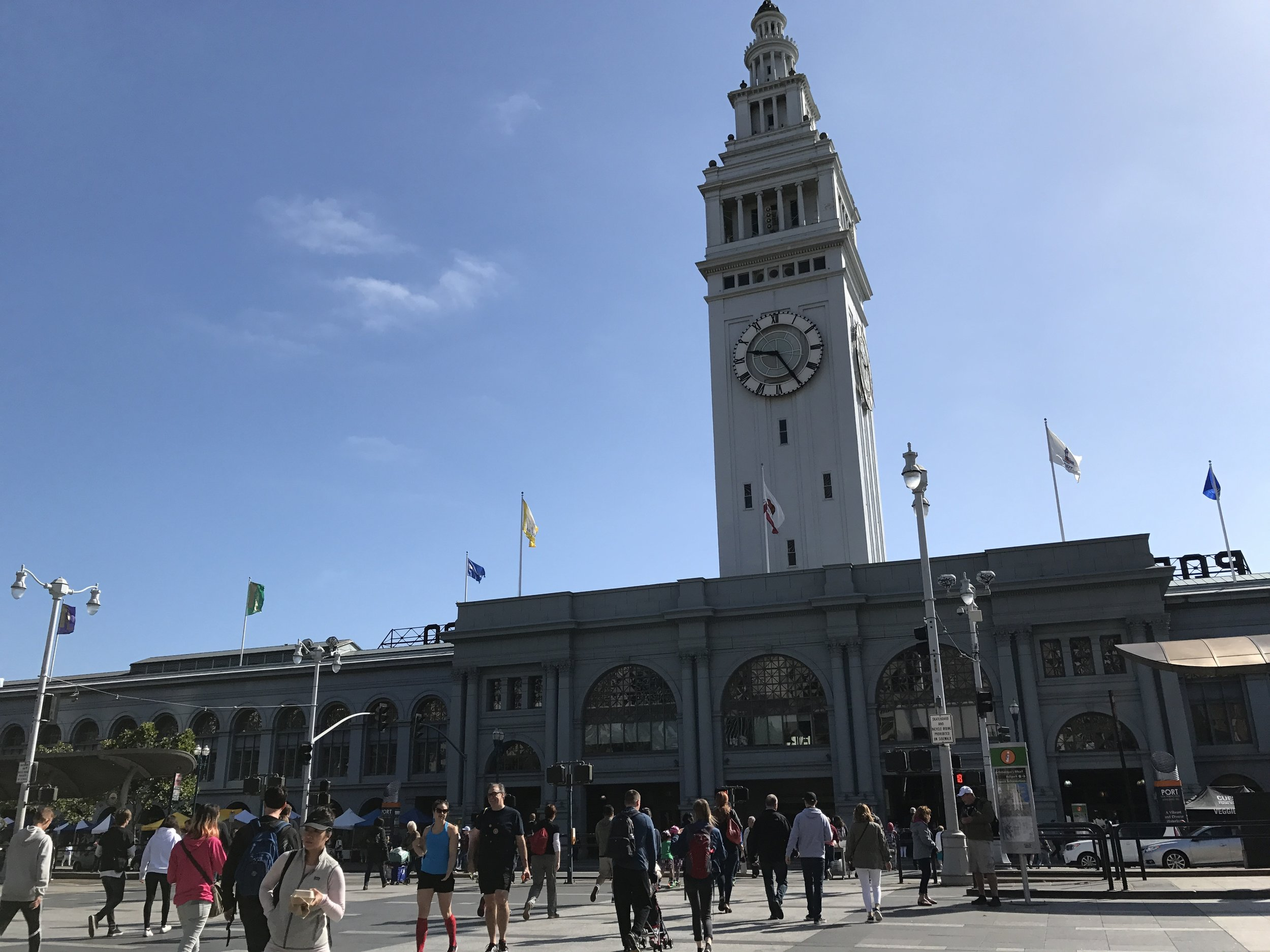 The Ferry Building Market – a real highlight of our trip.