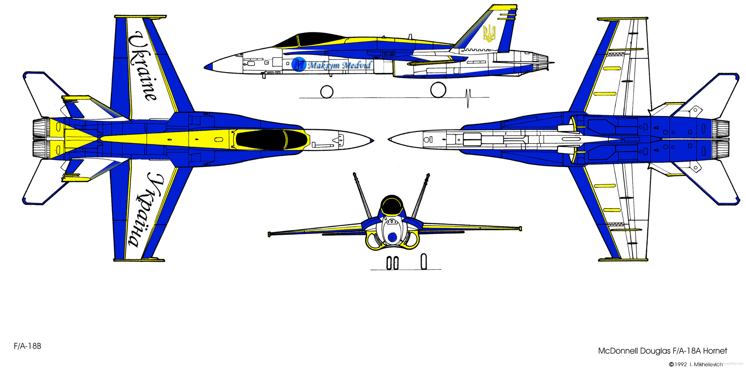 FA/18 Ukrainian Blueprint