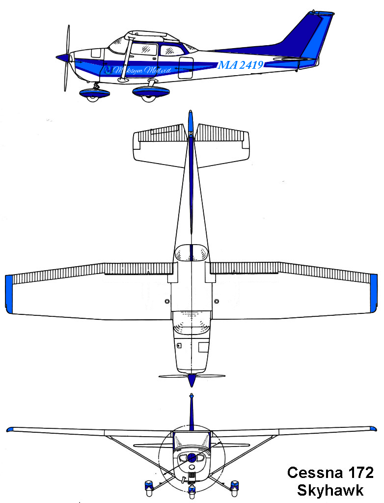 MA-2499 C172 Blueprint