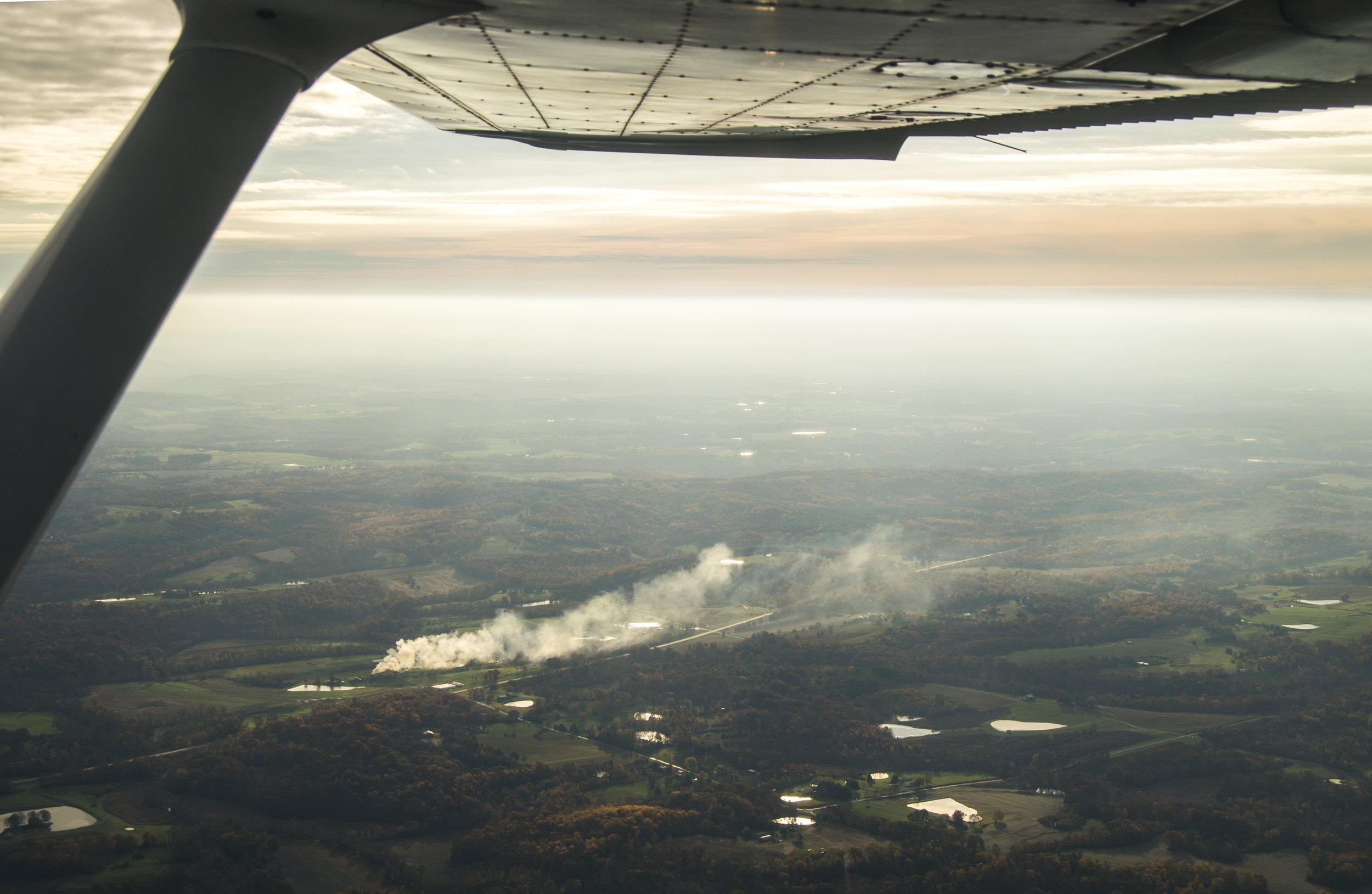[Aviation] Fire Burning