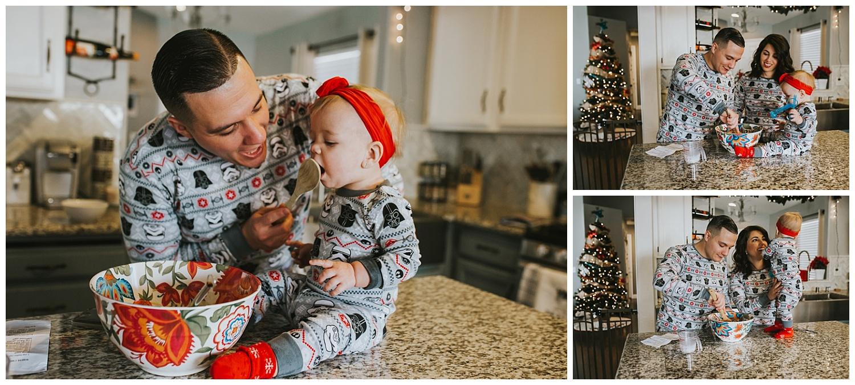 christmas photoshoot lifestyle