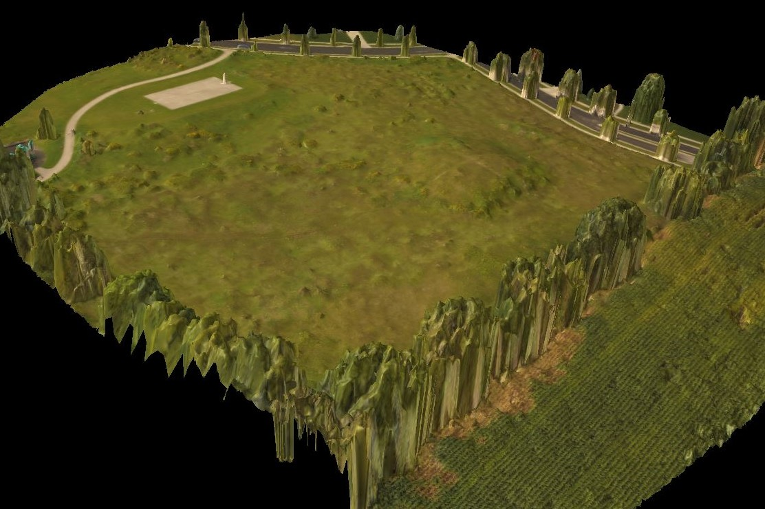 3D Model - Visualize terrain and buildings in 3D. Full control to rotate, pan and zoom the model.