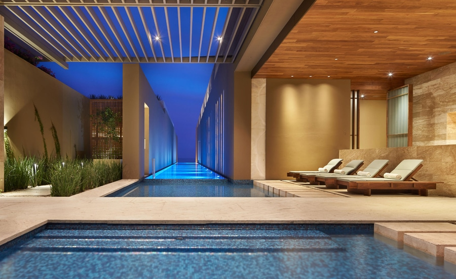 Get your pampering treatment in this beautiful spa