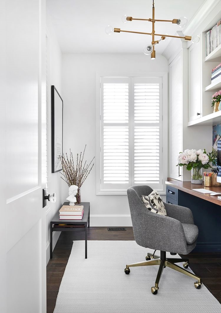 Small can still be functional as  Vanessa Francis Design shows us here.