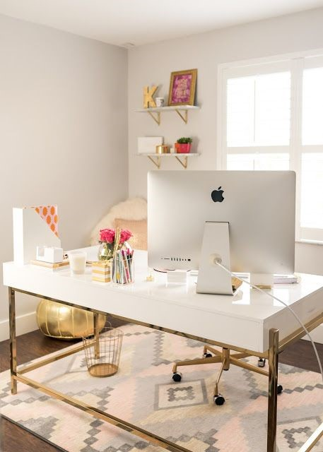 These  chic office essentials  are a lovely touch.