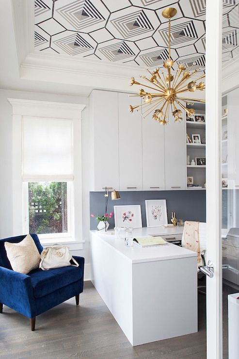 This gorgeous ceiling and glass door from  Terris Lightfoot are big inspirations!