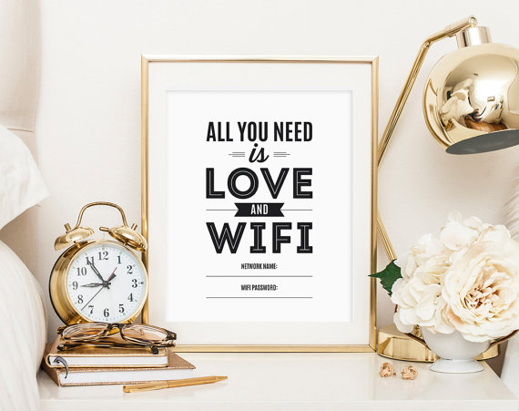 Download  this cute password art and frame it!