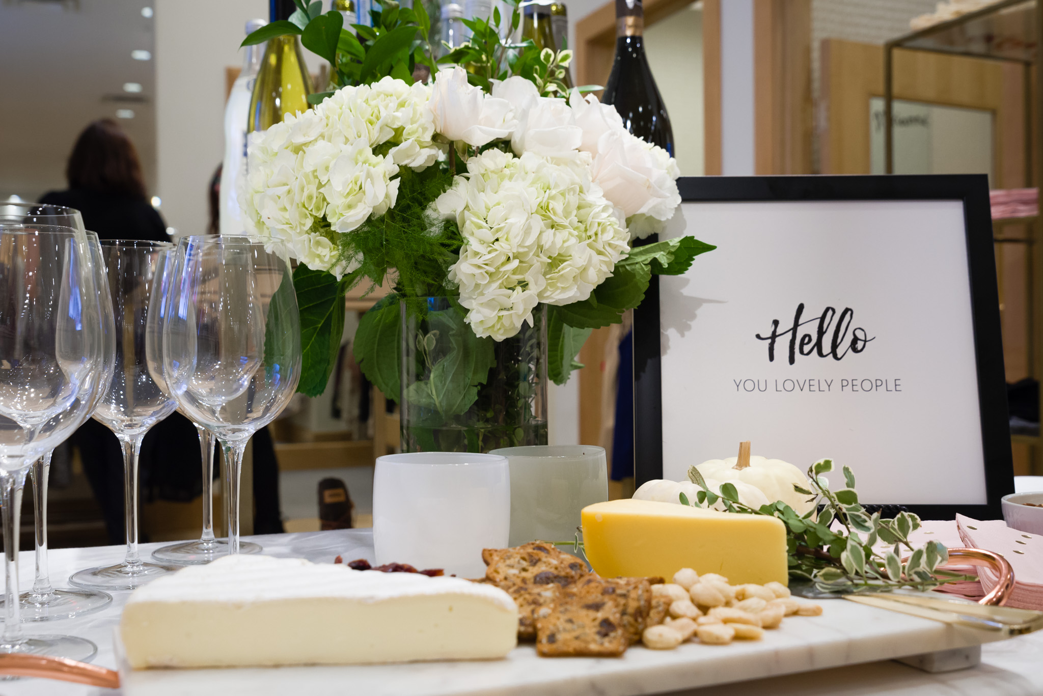 A beautiful tablescape always sets the mood.  Photo by  Folrev Photography