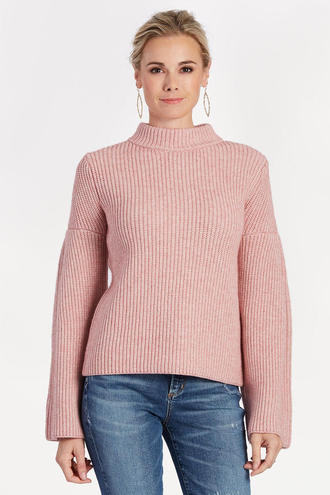 ROSE BELL SLEEVE SWEATER