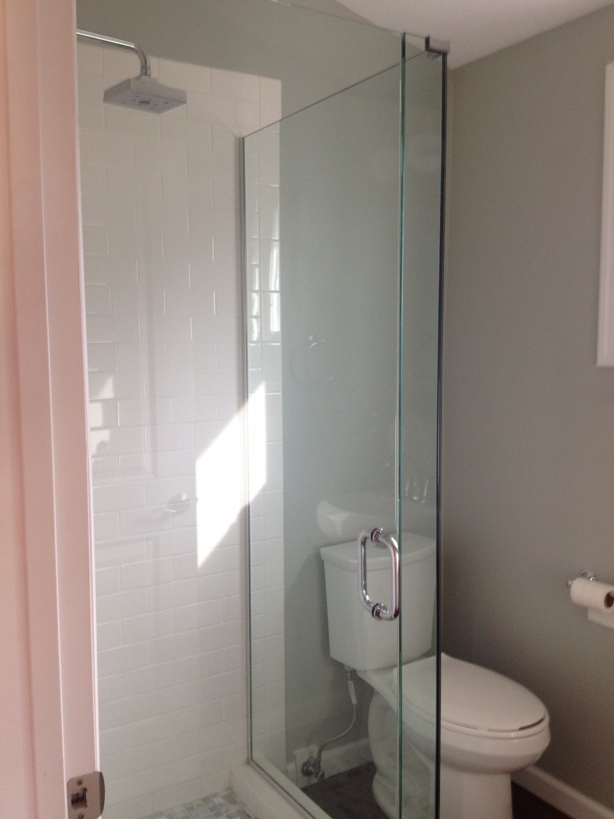After: You don't need a ton of space to build a bathroom