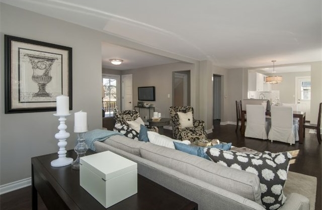 Beautiful neutrals bring the space together