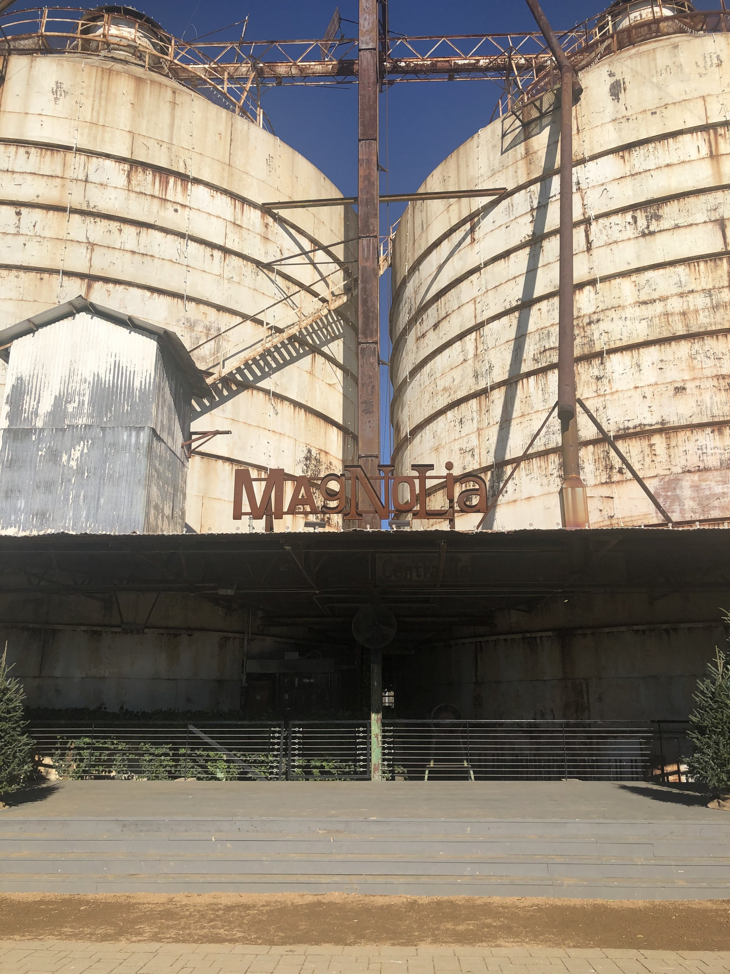 The infamous silos. It took a lot of creativity to see what was ahead.