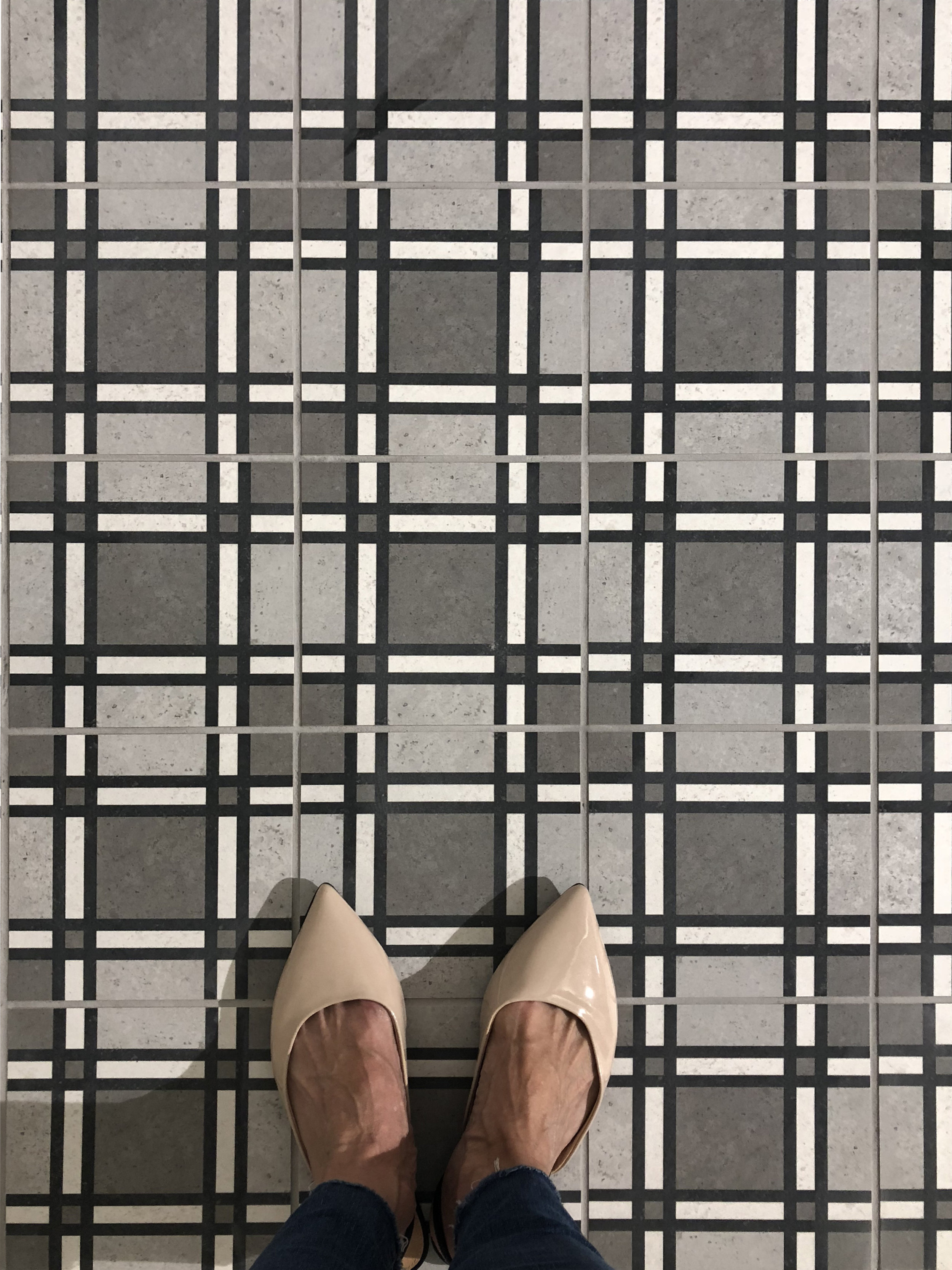 I'm in love with this unique tile!