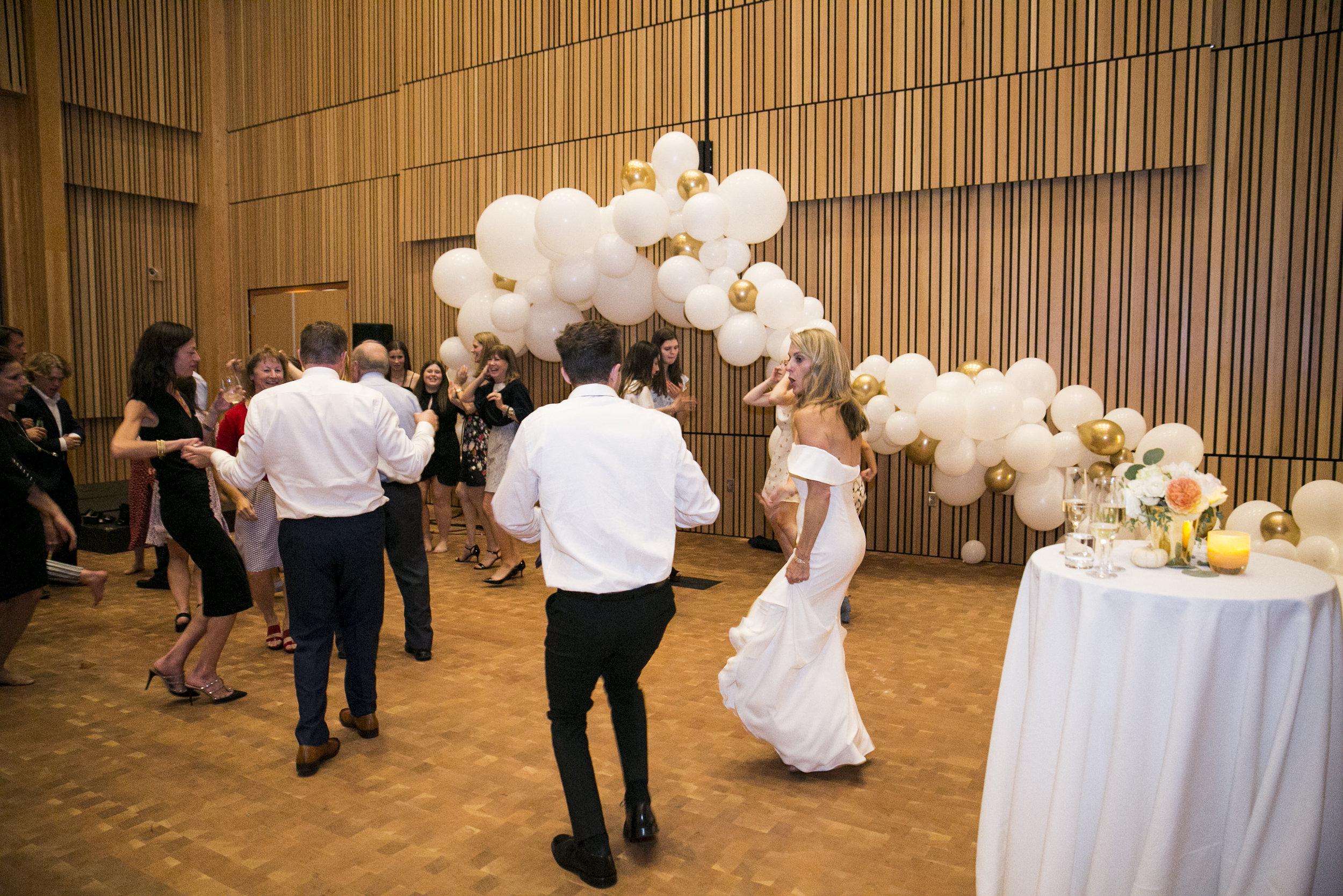 The dance floor was definitely on fire!