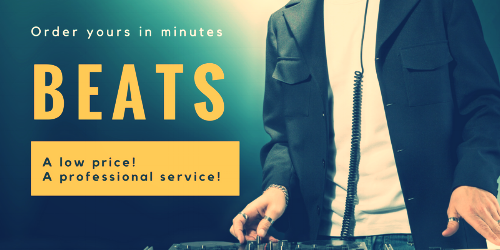 A LOW PRICE, A PROFESSIONAL SERVICE. BEATS - WE CAN CREATE ANY CUSTOM BEAT, JUST CONTACT US ABOUT YOUR PROJECT
