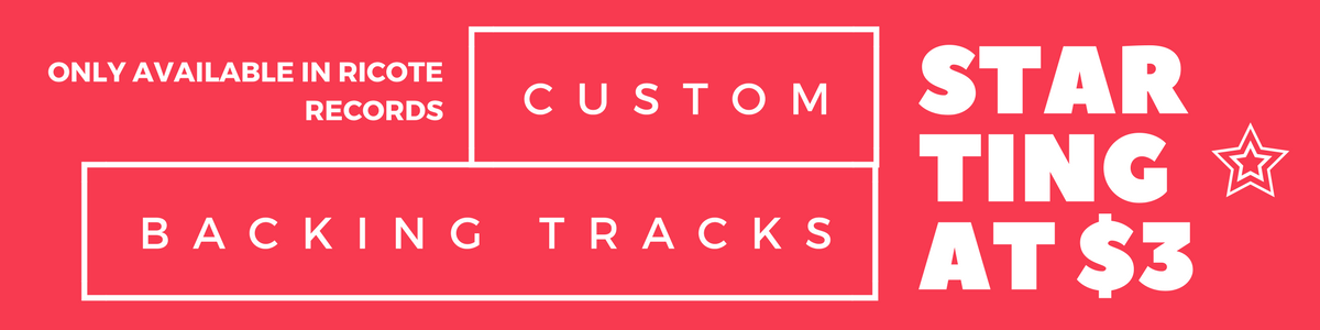 Custom Backing Tracks available online today!