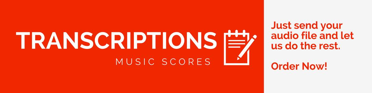 Transcriptions, Music Scores Available Online