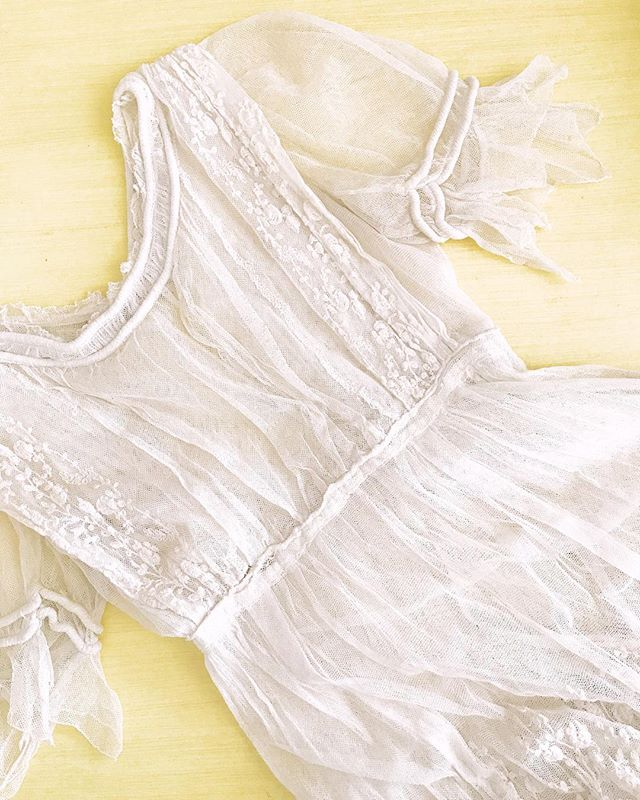 My current love affair 😍 Coming soon to the site!! . . . #vintage #lace #antique #original #sheerdress #boudoir #fineartboudoir #fineartbride #dressrental #fineartdress #romantictulle #whitelace #wardroberental #dressrentals