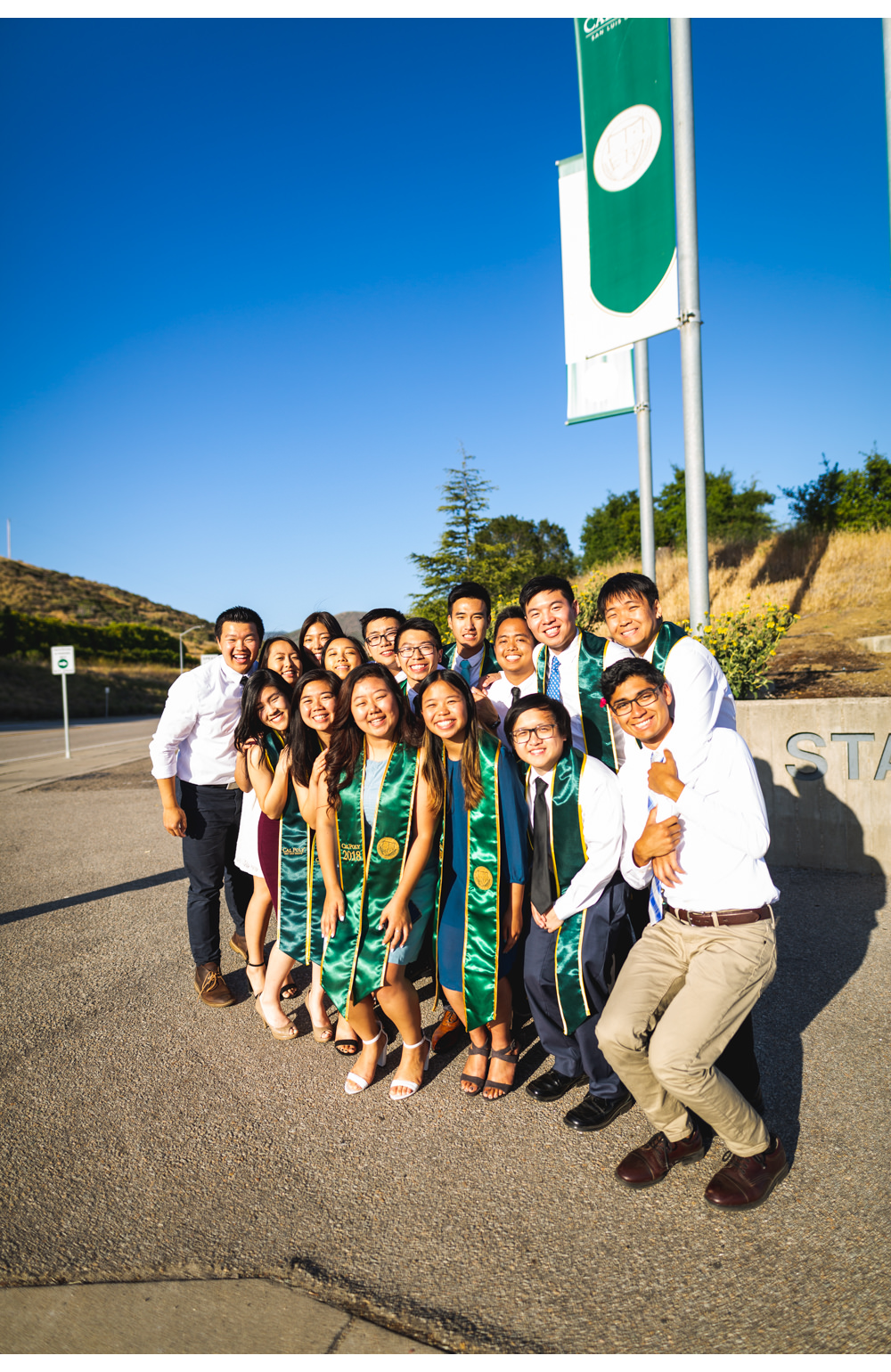 Happy at cal poly sign.jpg