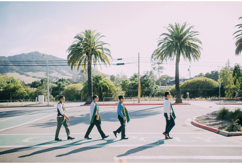 Beatles Graduation walk at cal poly.jpg