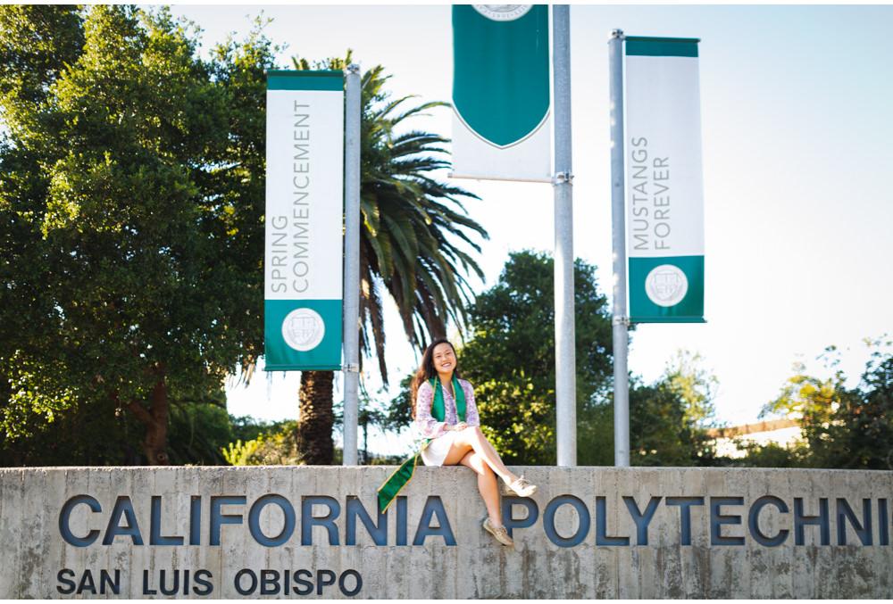 Cal Poly Graduate at California Sign.jpg