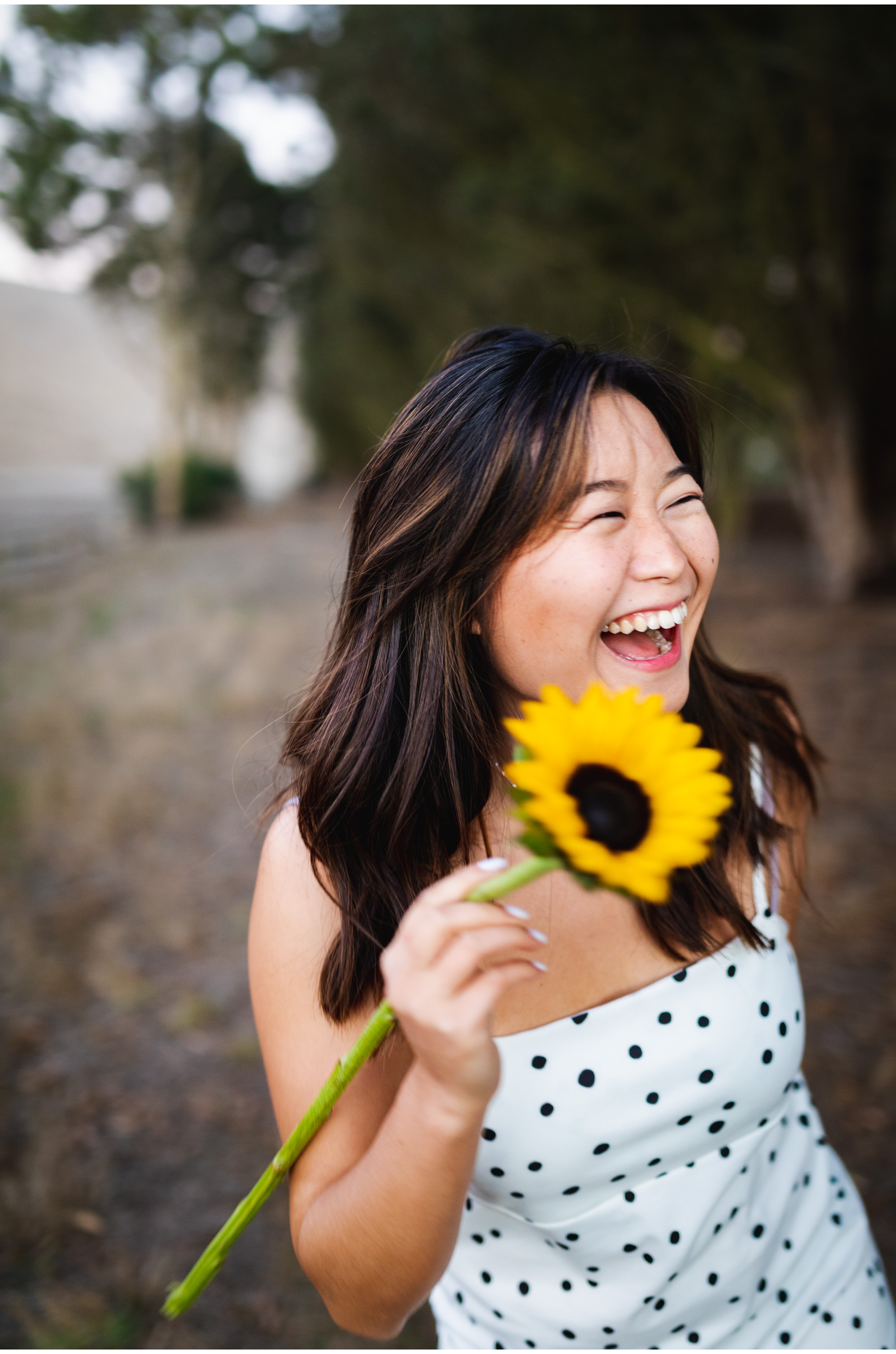 Laughing Jodie and Sunflower.jpg