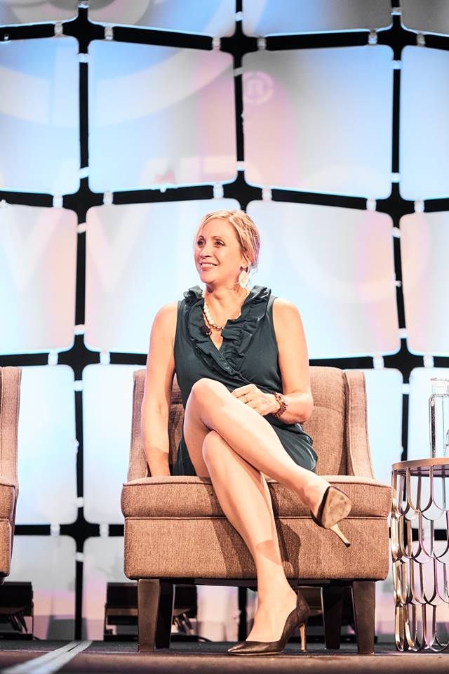 Co-founder Kristin Haffert - attended the conference where she spoke about what Mine the Gap is currently doing to advance women leaders in the public and private sectors.