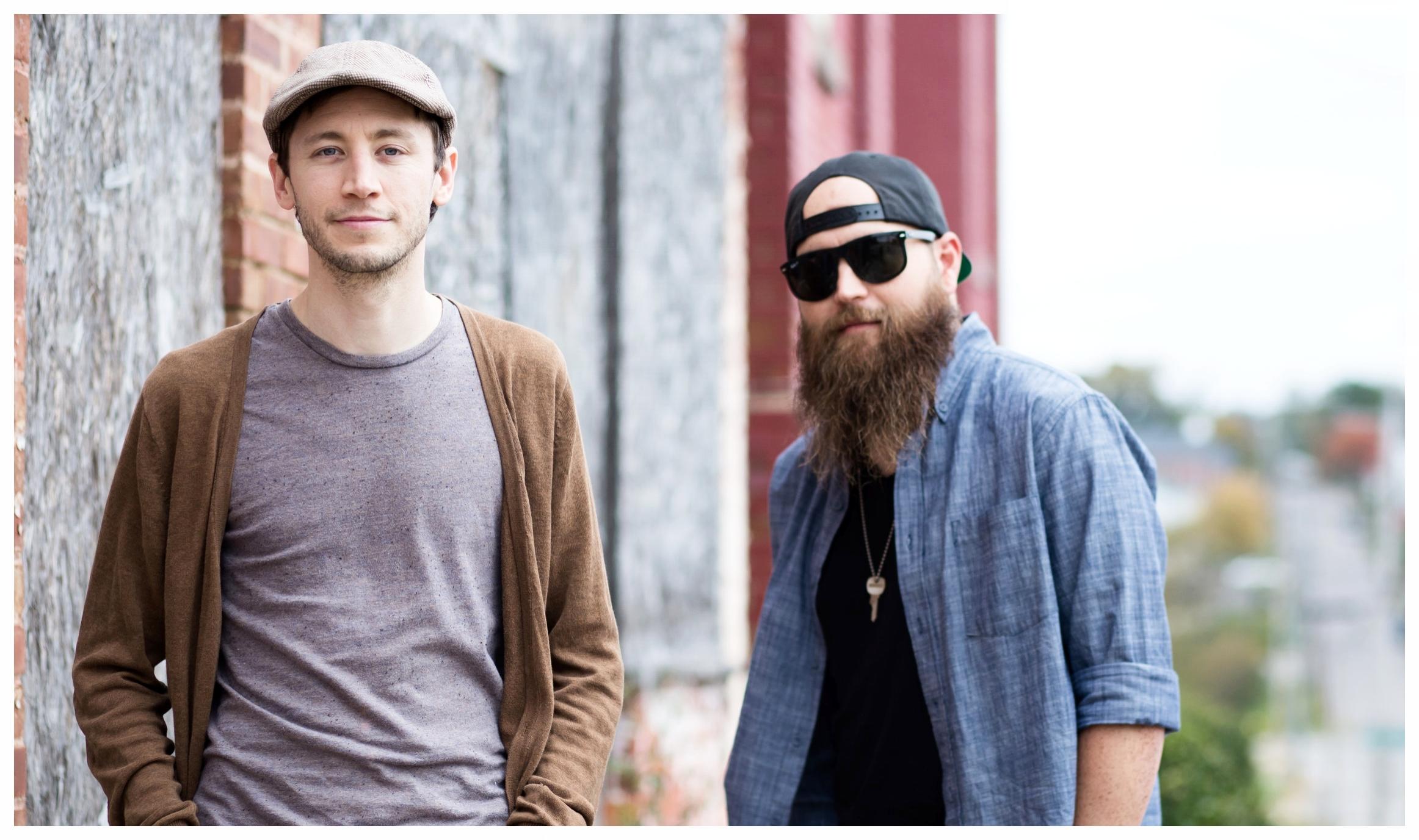 Photo by Kelley Chura Jamie Chura (left), Justin Ferguson (right)