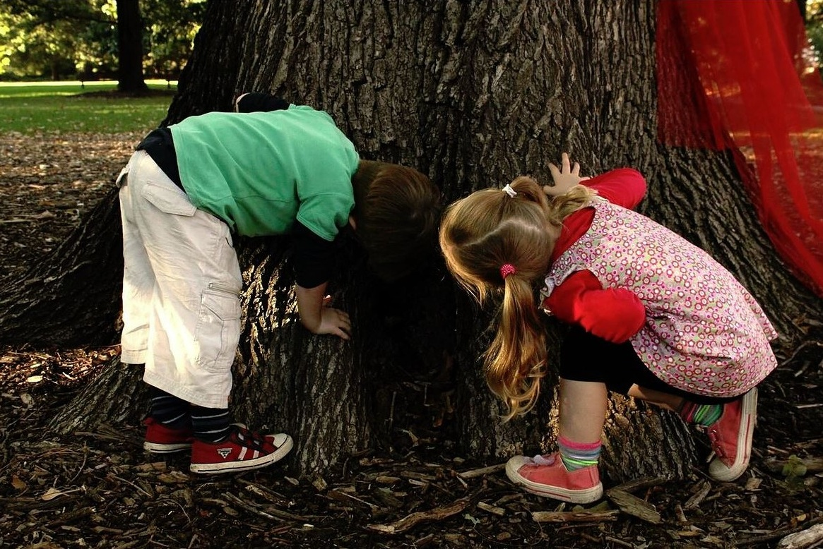 Image courtesy of Tania Moloney at the very first Nature Play Week launch in 2014