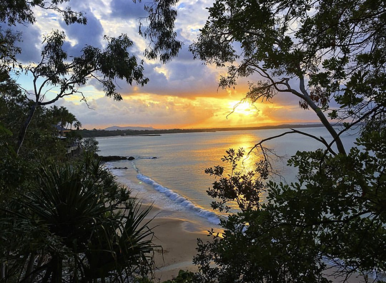 A beyond beautiful sunset at Noosa Heads.